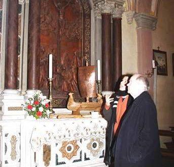 Il Besarel e la pala del Gesù a Vigo